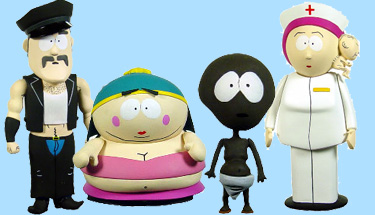 Mezco South Park Actionfiguren