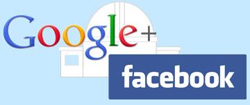 Google+ Facebook