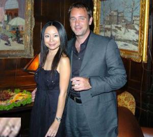 Trey Parker und Emma Sugiyama September 2005