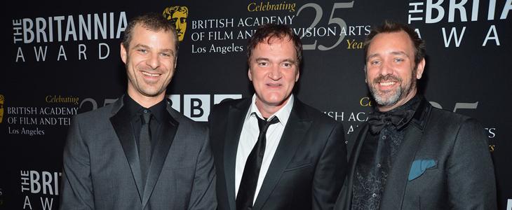 BAFTA Awards 2013: Matt Stone, Quentin Tarantino, Trey Parker