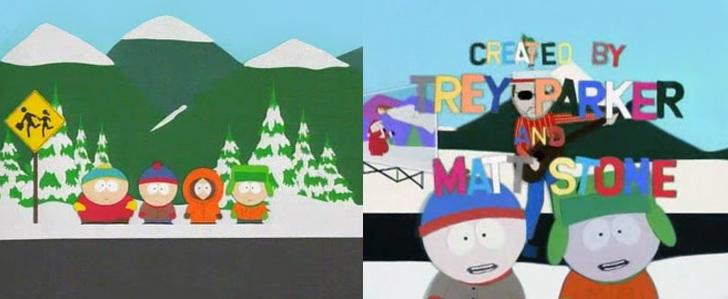 Vergleich zwischen Pilotfolge und Cartman und die Analsonde