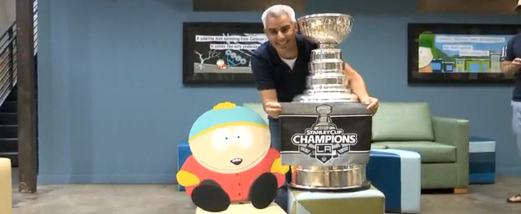 Stanley Cup in den South Park Studios
