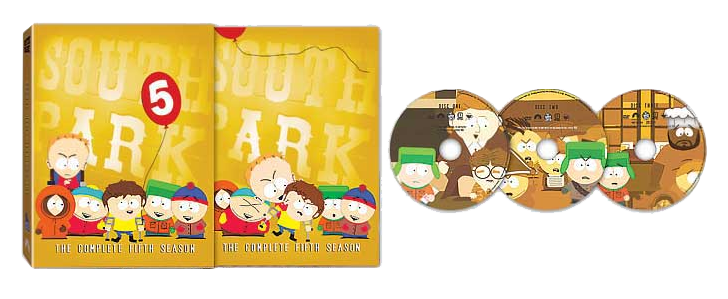 South Park: The complete fifth Season DVD