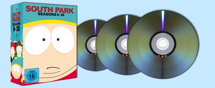 South Park – Season 6-10 DVD-Box