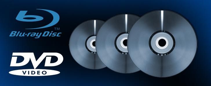 DVDs / Blu-rays