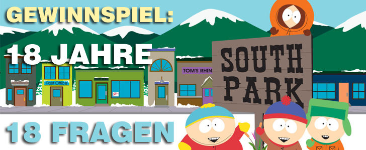 South Park Gewinnspiel