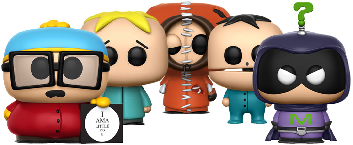 Funko Pop! South Park Figuren