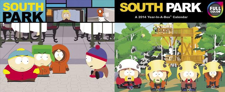 South Park Kalender 2014