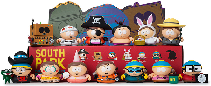 "South Park Many Faces of Cartman 3"" Blind Box Mini Series"