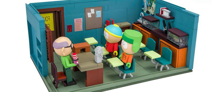 South Park Construction Sets