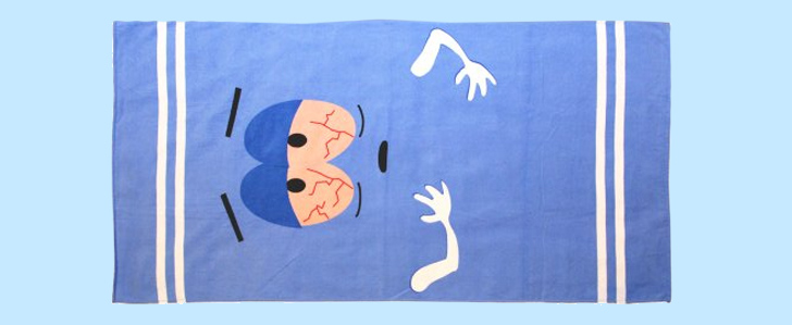 Offizielles Towelie Badehandtuch