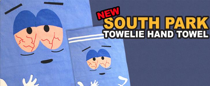 Towelie hand towel
