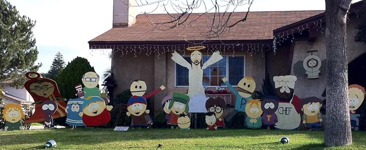 South Park Weihnachtsdekoration