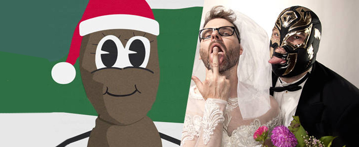 Keule singen den Mr. Hankey Song