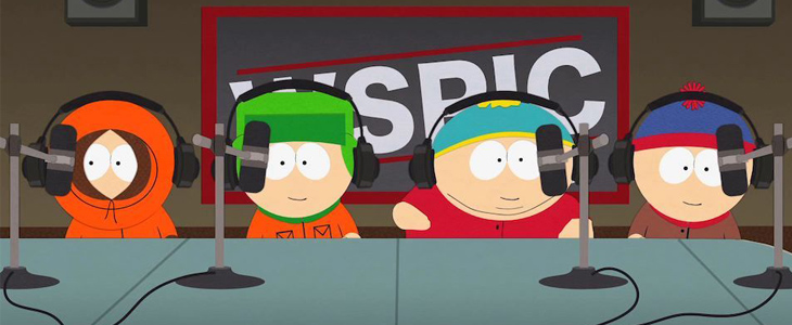 Podcast mit Matt & Trey