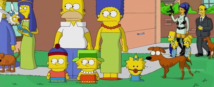 South Park Parodie in Treehouse of Horror XXV