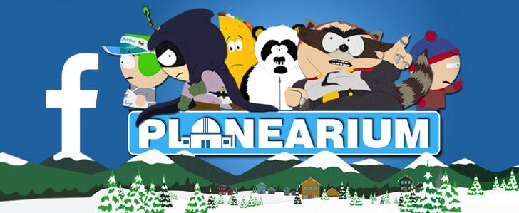 Neue Planearium.de Facebook Page