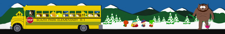 Planearium Header - South Park Schulbus