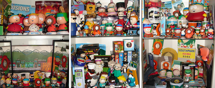 Janinas South Park Fanartikel Sammlung