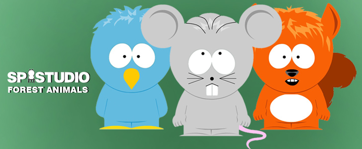 South Park Tiere