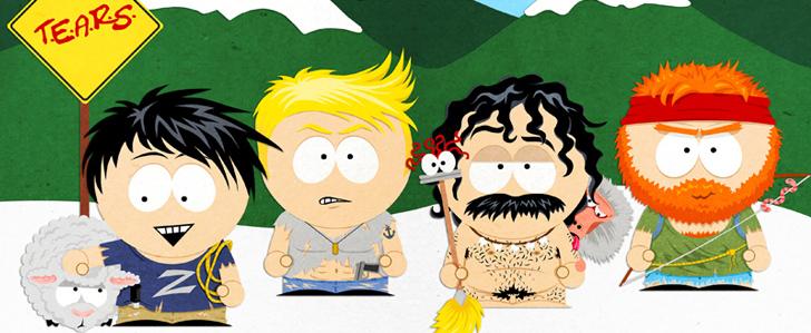 Rocketbeans TV T.E.A.R.S. X South Park crossover fan art
