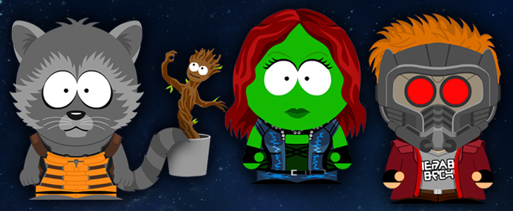 South Park X Guardians of the Galaxy Crossover