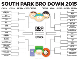South Park Bro Down 2015 Plan