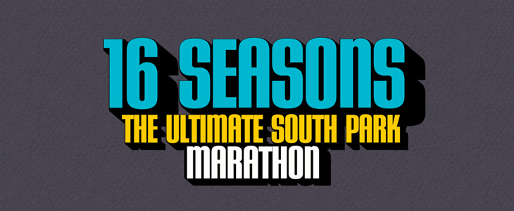 16 Seasons South Park Marathon