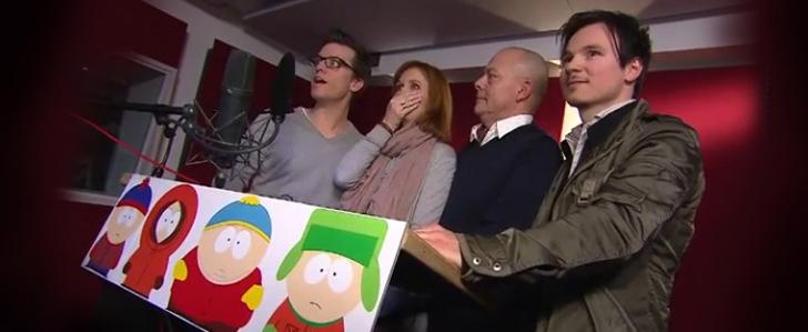 Die deutschen Stimmen von Stan, Kenny, Cartman und Kyle