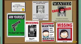 South Park: Der Stab der Wahrheit - Aushänge