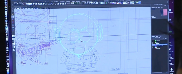 Behind the Scenes Video von South Park The Stick of Truth