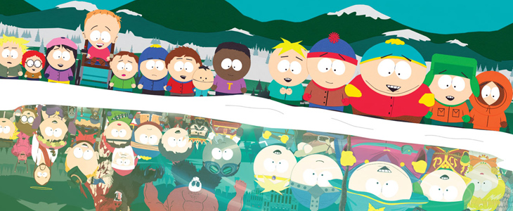 Game Informer Cover zum South Park Spiel