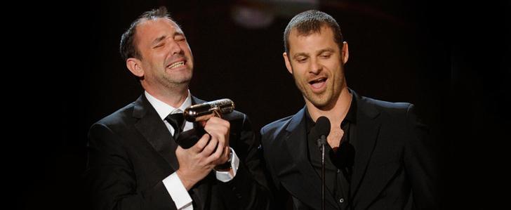 Trey Parker und Matt Stone bei den Comedy Awards 2013